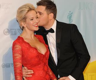 Michael Bublé says he's fallen in love with his wife all over again since their son has been cleared of cancer