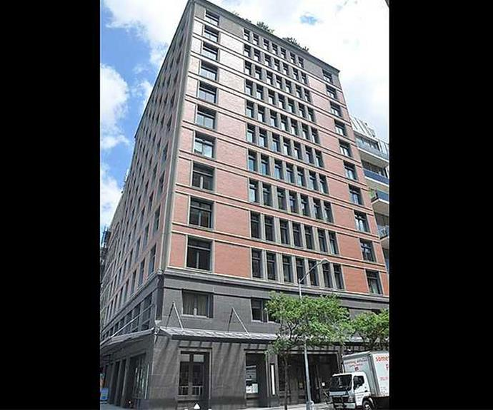 The four bedroom property is located in the trendy Tribeca neighborhood.