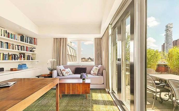 The floor-to-ceiling windows make it beautifully light throughout.