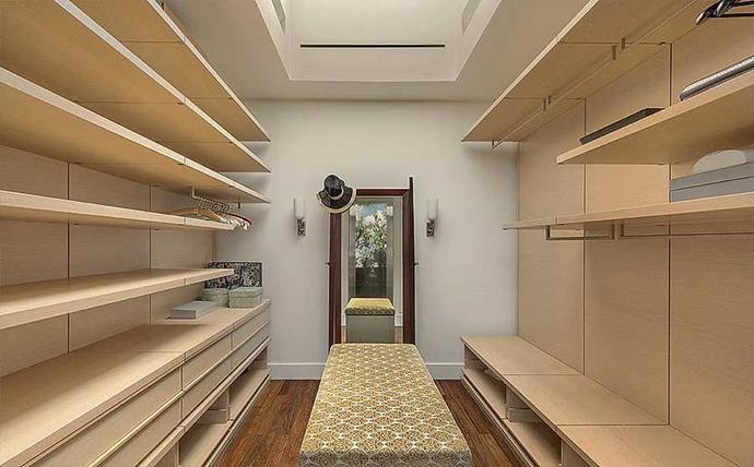 One has a walk in wardrobe to make Cher Horowitz jealous.