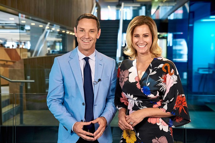 Pippa and Haydn Jones, the current hosts of TV's Fair Go, which has been running for 41 years.