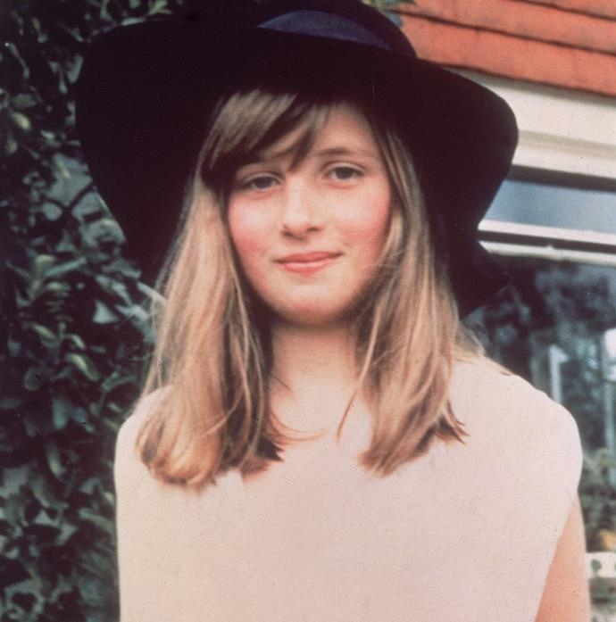 Wasn't 10-year-old Diana Spencer a cutie?