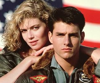 Tom Cruise Maverick Top Gun Kelly McGillis