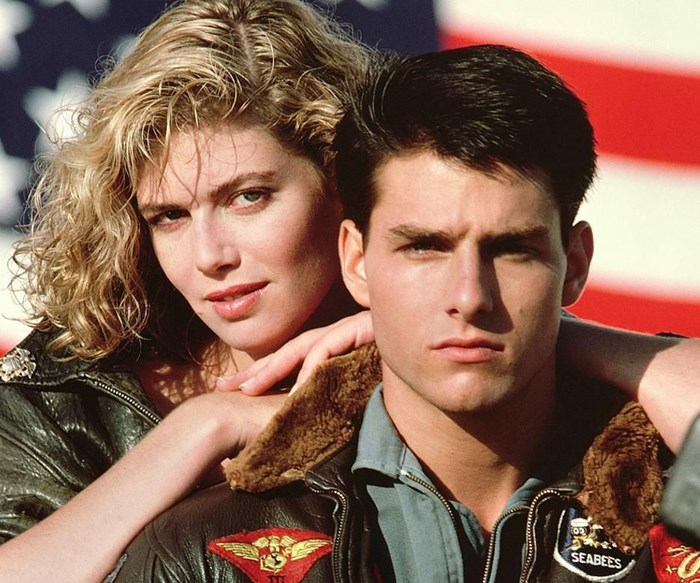 Tom Cruise Maverick Top Gun Kelly McGillis