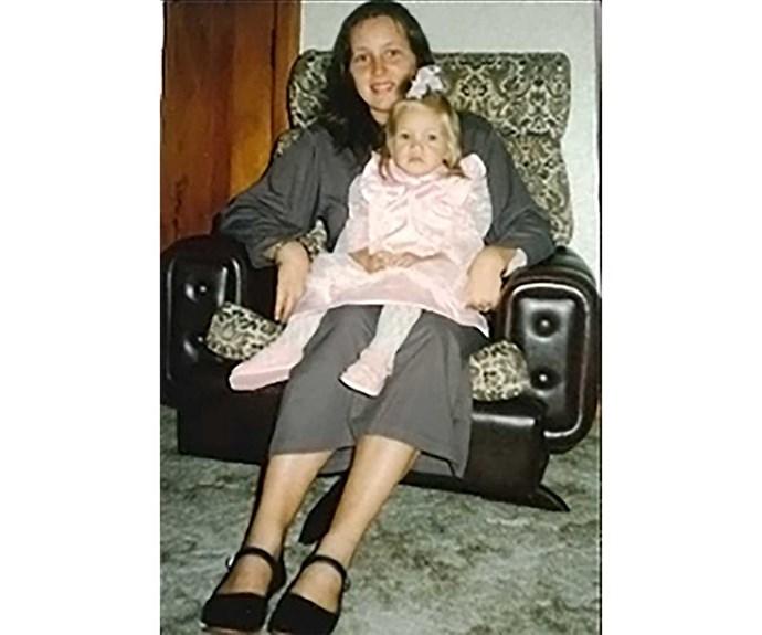 Vea and her mum Caroline.