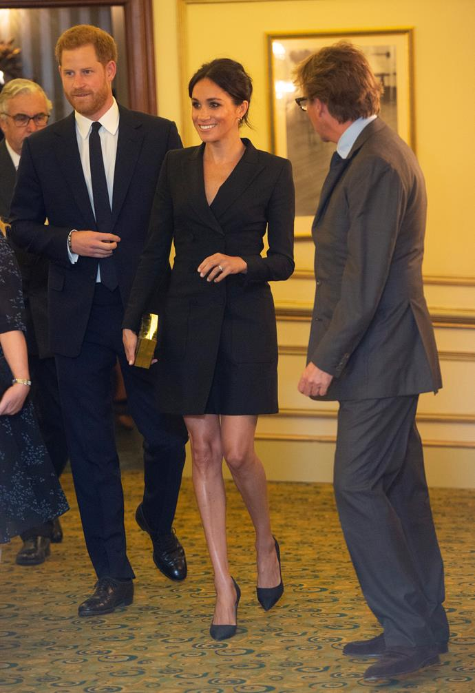 The Duchess looked stylish and classy at the gala performance of *Hamilton*.