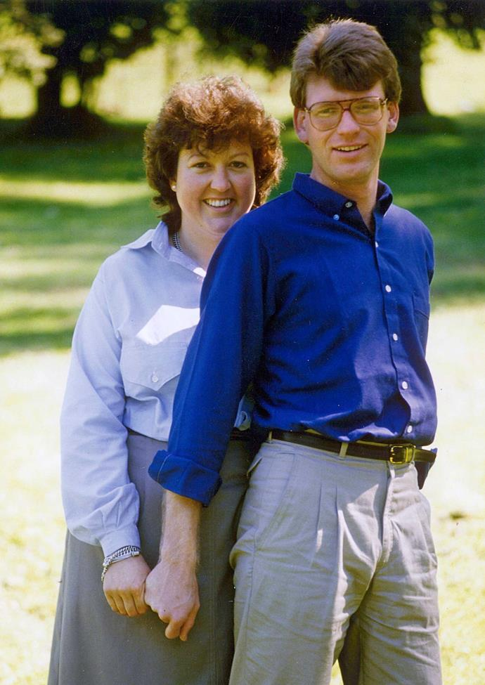 Jo and Ross in the 1980s