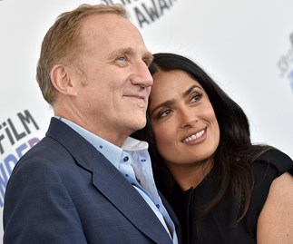 Salma Hayek's husband just surprised her with a romantic wedding vow renewal in Tahiti