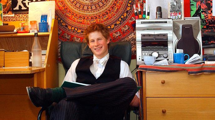 Prince Harry's schoolboy crush finally notices him