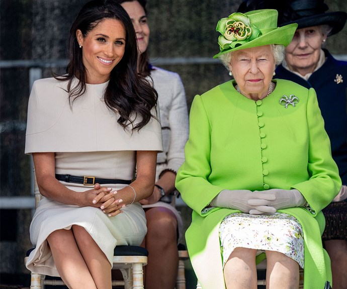 We're sure Meghan would have nothing but lovely things to say about the British monarchy.