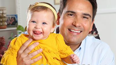 Simon Bridges admits it's a challenge trying to juggle family and career