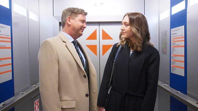 His latest plotlines involve a love triangle with Zoe (Holly Shervey).