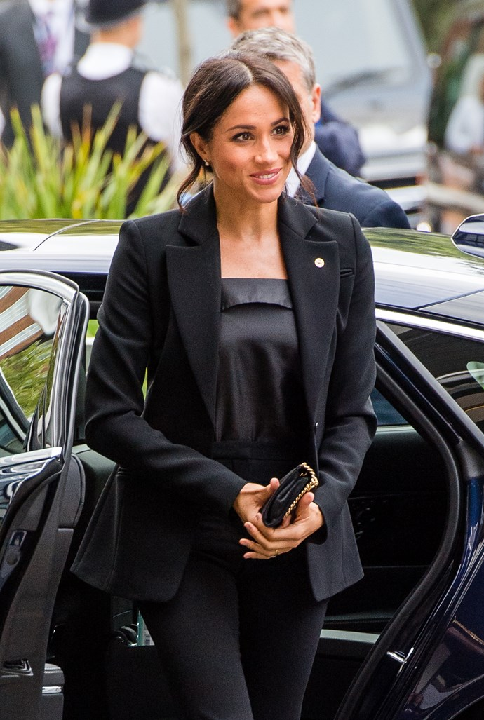 We may be copying Meghan's style for our work wardrobe...
