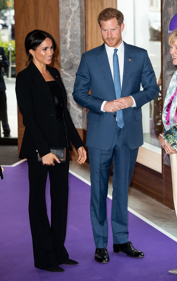 We love Meghan's chic suit!