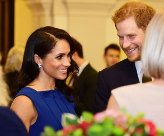 Meghan Markle channels old Hollywood glamour at military charity gala with Prince Harry