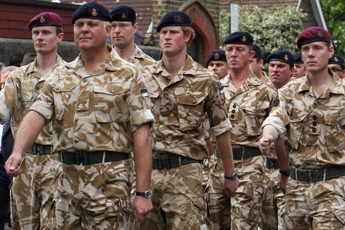 Prince Harry left the army in 2015.