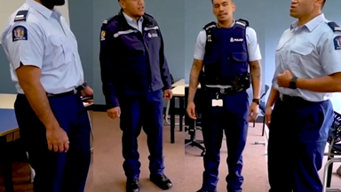 The Auckland police warm our hearts with a beautiful barbershop performance