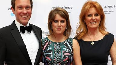 Sarah Ferguson gushes about her new son-in-law Jack Brooksbank