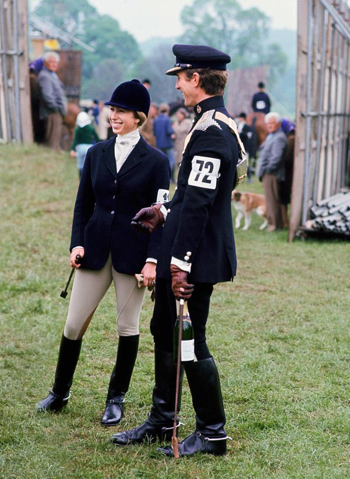 Anne and Mark were the golden couple of eventing.