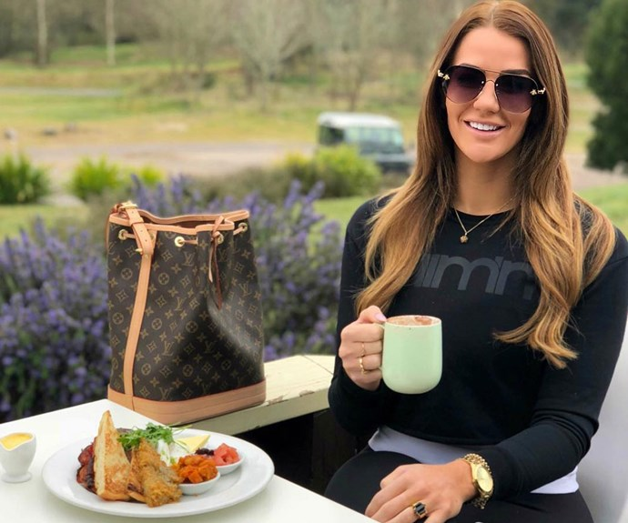 Fitness and weight loss blogger Simone Anderson shares her wellness routine