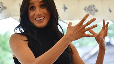 Meghan Markle has just given the perfect first royal speech about her new charity cookbook