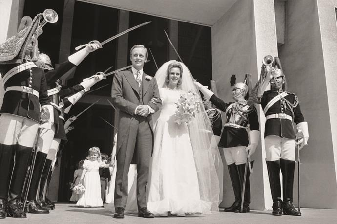 Camilla's wedding to Andrew Parker Bowles