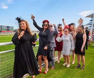 Woman's Day VIP at Colgate Optic White Stakes Day