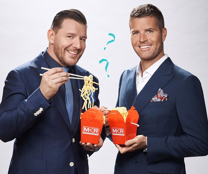 The hilarious results when we test MKR's Pete and Manu on how well they know each other