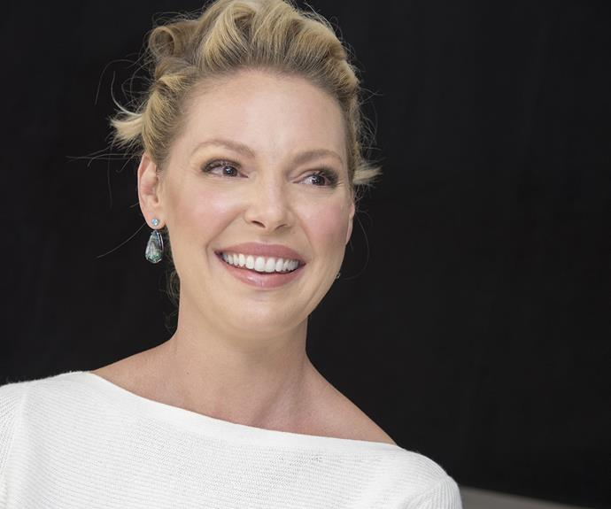 Katherine Heigl and her kids were bedazzled when she started on Suits - but for very different reasons!