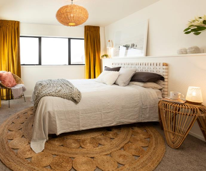 The judges loved Amy and Stu's room saying it was fresh and beautifully accessorised.