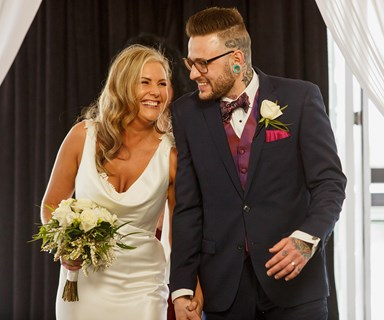 Married at First Sight NZ: Wayne and Ksenia get hitched and Ottie and Gareth meet at the altar