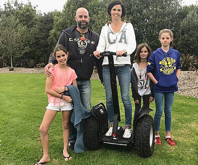 """Megan says having a segway means she won't """"miss out on so much life"""""""