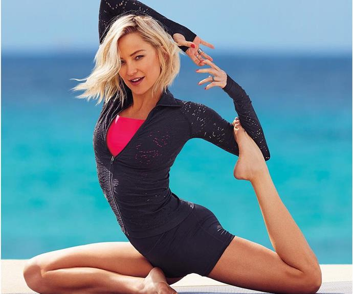 "Actress and mum Kate Hudson is a big fan of reformer pilates! Speaking to *[Self](https://www.self.com/story/world-according-to-kate-hudson|target=""_blank""