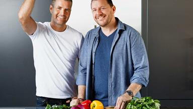 MKR's Pete Evans and Manu Fieldel dish on their love for NZ - and Pete goes one-up by revealing he's moving here