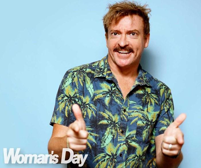 Kiwi comedian Rhys Darby on raising his children in gun-obsessed America