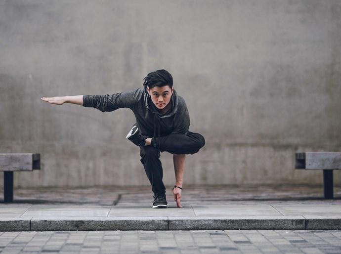 Michael James Wong created Boys of Yoga to destigmatise men's yoga.