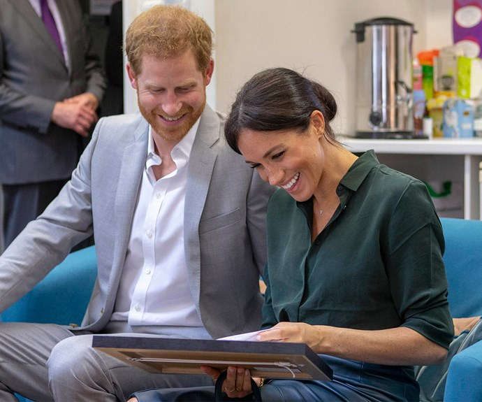 Duchess Meghan and Prince Harry reveal new details about their adorable dog