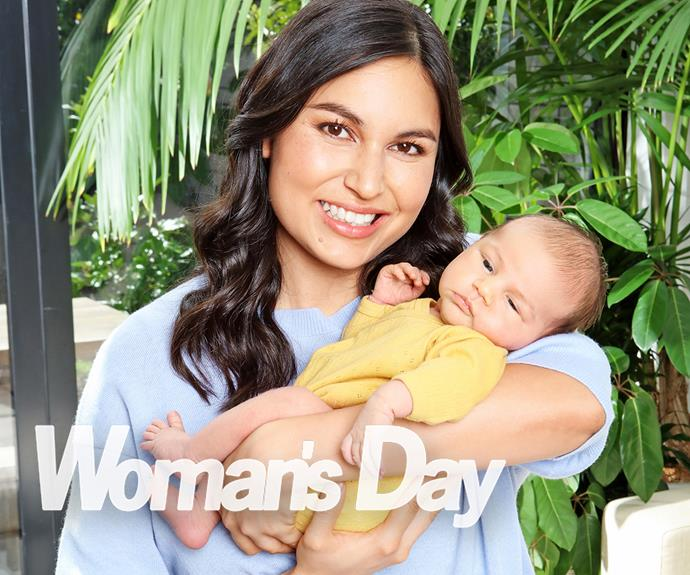Nadia Lim introduces her adorable newborn son River after his dramatic arrival into the world