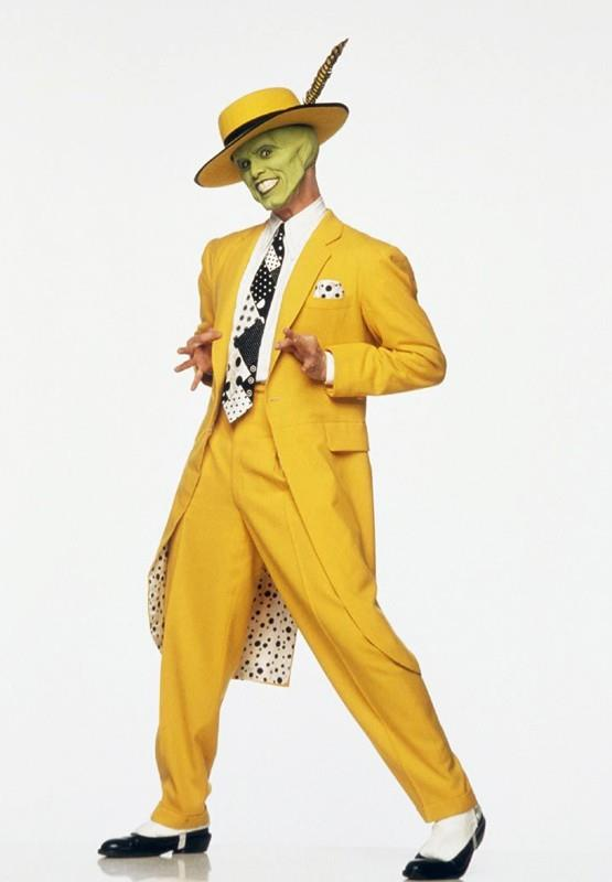 Jim Carrey as The Mask in the movie *The Mask*.
