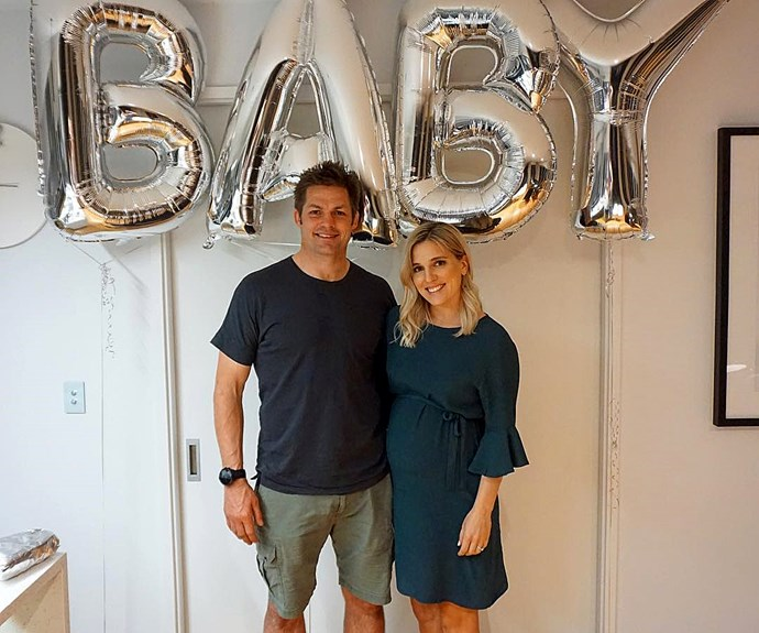 Gemma Richie McCaw baby shower