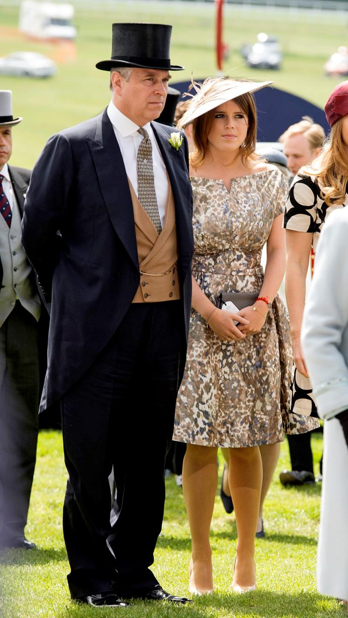 Prince Andrew is determined that his daughter Princess Eugenie's big day be celebrated as widely as his nephew Prince Harry's wedding.