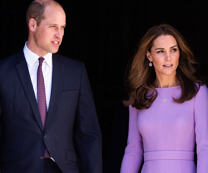 Prince William and Duchess Catherine have attended their first royal engagement together since Prince Louis was born