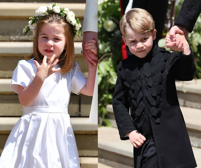 Prince George and Princess Charlotte will be pageboy and bridesmaid at Princess Eugenie's wedding