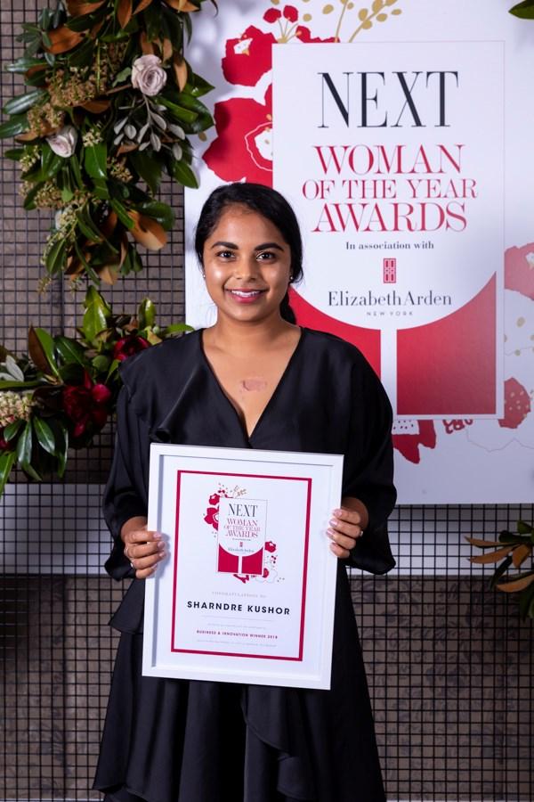 Business & Innovation category winner Sharndre Kushor.
