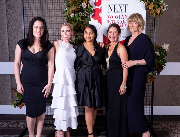 Finalists Lillian Grace, Wendy Thompson, Sharndre Kushor, Michelle Sharp and Erica Crawford.