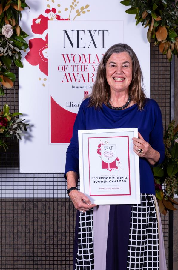 Supreme winner NEXT Woman of the Year 2018 Professor Philippa Howden-Chapman.
