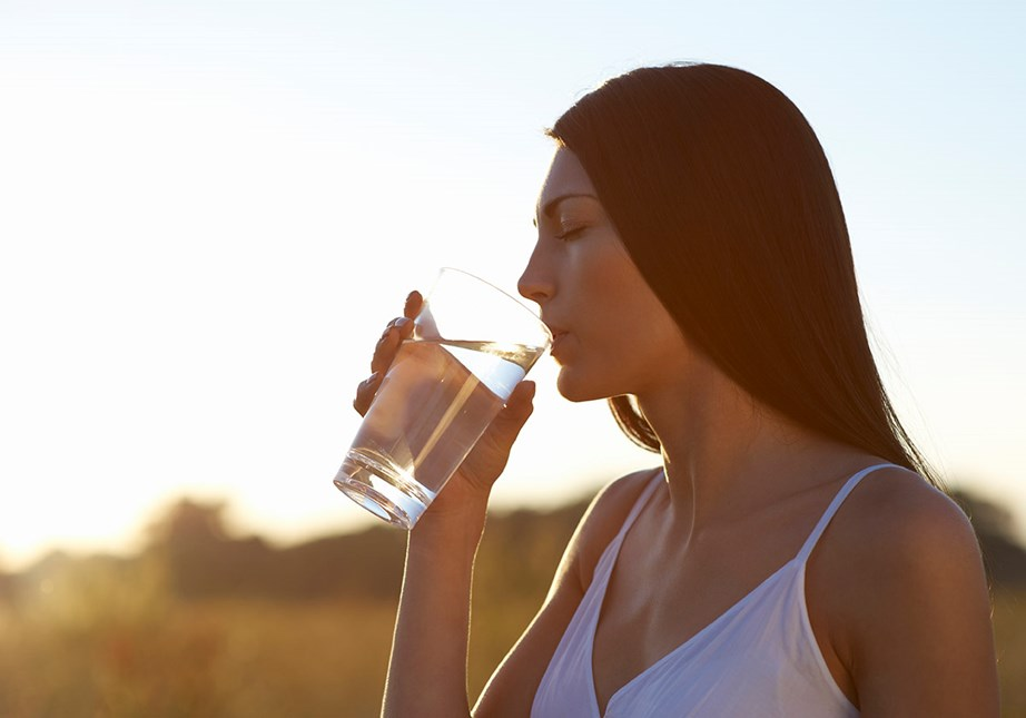 Yup, water can help with weight-loss too. *(Image: Getty)*