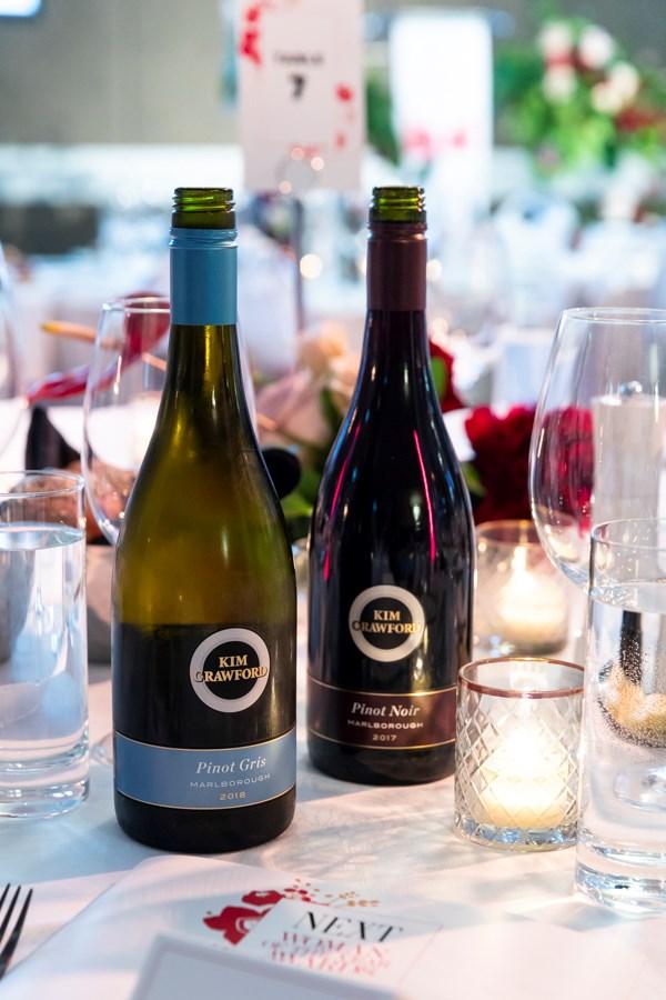 Kim Crawford wines.