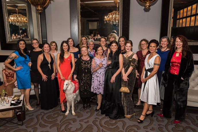 Some of the fabulous Woman of the Year finalists, with NEXT editor Rachael Russell.