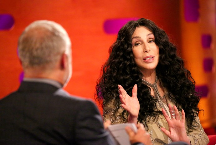 While on the show, Cher revealed her two-year love limit – Graham sympathises.